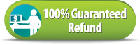 100% Guaranteed Refund
